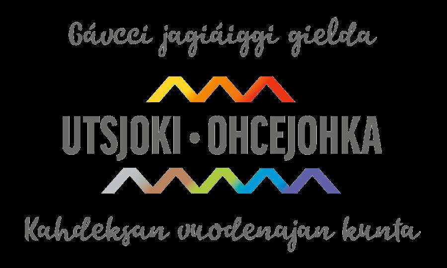 Utsjoki-Kahdeksan vuodenajan kunta logo