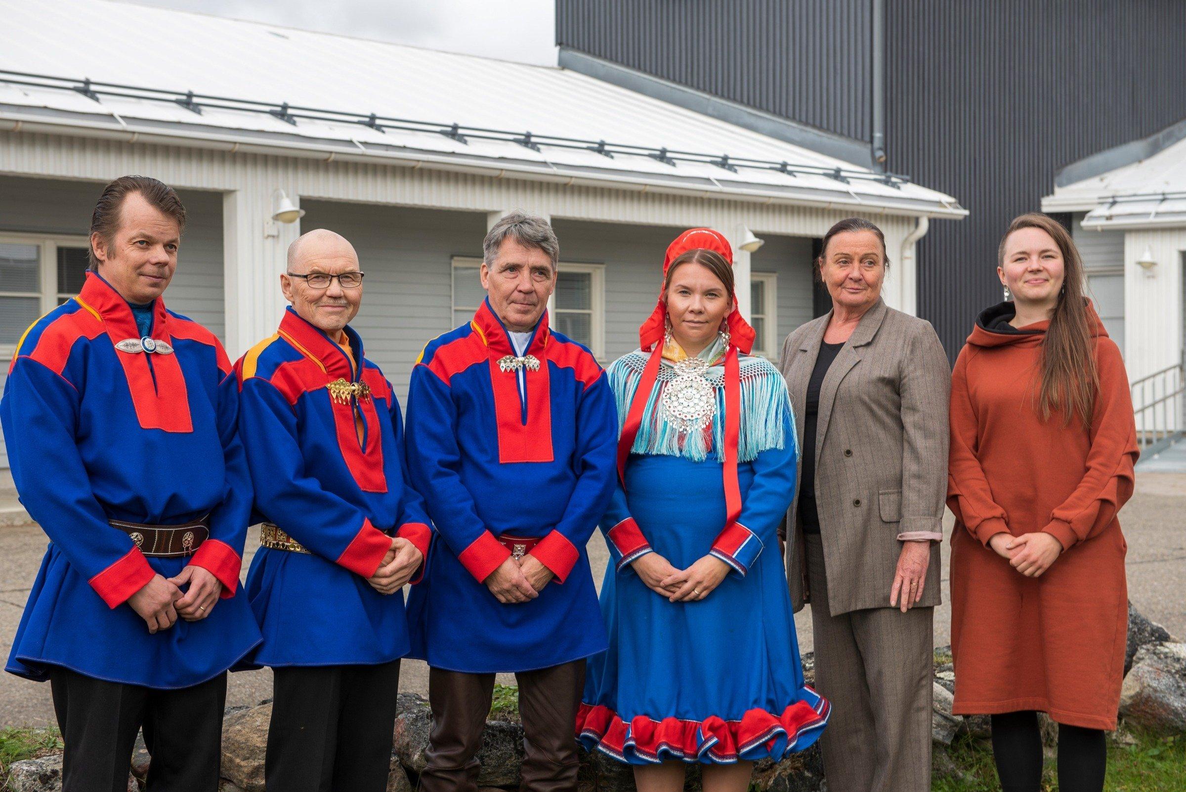 Utsjoen kunnanvaltuuston puheenjohtajaksi Uula Tapiola, kunnanhallitusta johtaa Väinö Guttorm 2